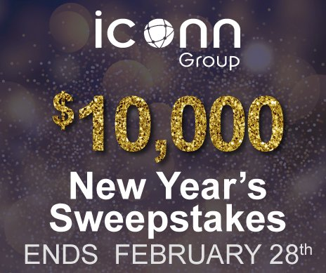 $10,000 Iconn Group New Years Sweepstakes 2019