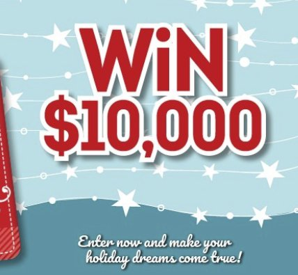 how to win wish daily giveaway 10 000 the holiday wish and win sweepstakes 8443