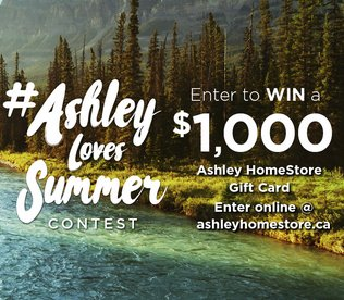 1 000 Ashley Homestore Gift Card