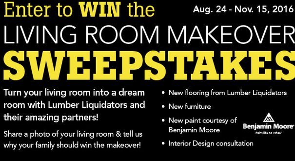 10000 Living Room Makeover Contest