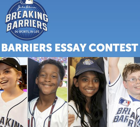 breaking barriers essay contest winners 2015 Winners will receive cash prizes the southern christian leadership conference of southern california (sclc-sc) emerging leaders is holding essay & oratorical and art contests as a part of king.