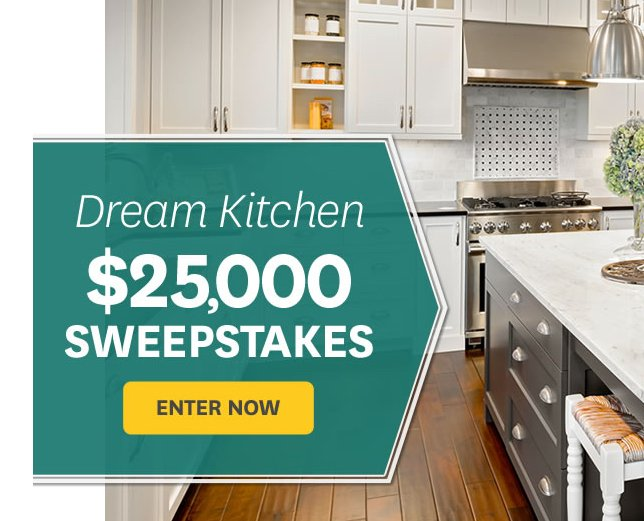 $25,000 Dream Kitchen Sweepstakes   Better Homes And Gardens Top