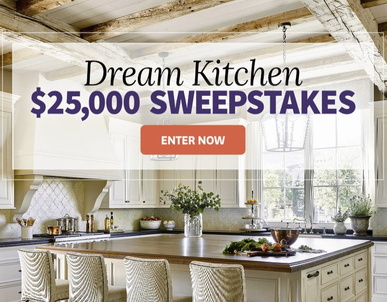 Better Homes And Gardens 25 000 Kitchen Sweepstakes