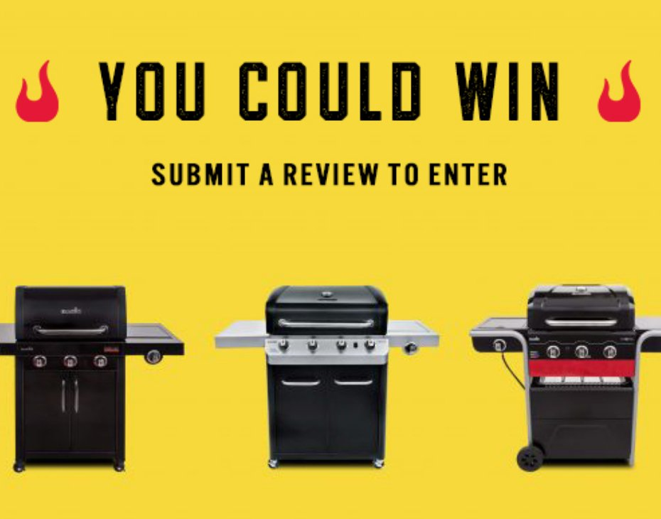 Char-Broil Grill Sweepstakes Official Rules