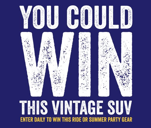 $59,050 Pabst Blue Ribbon Easy Vintage Sweepstakes
