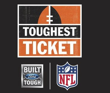 Ford Toughest Ticket Sweepstakes