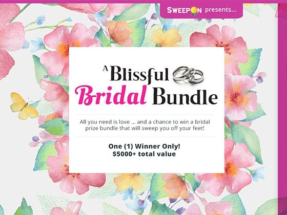 cbs soaps sweepstakes cbs soaps in depth 6 565 blissful bridal bundle prize 8552
