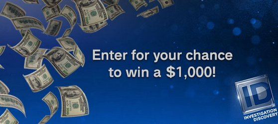 Investigation Discovery Addict Of The Month 1000 Giveaway
