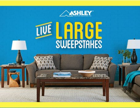 High Quality Ashley Live Large Sweepstakes   Rent A Center