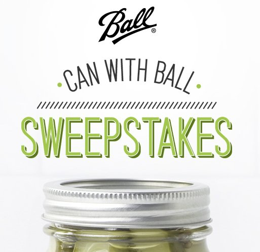 Ball yesyoucan sweepstakes for New home giveaway