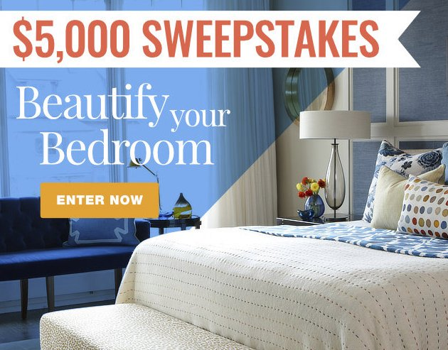 Better Homes And Gardens Sweepstakes >> Martha Stewart - Beautify Your Bedroom Sweepstakes