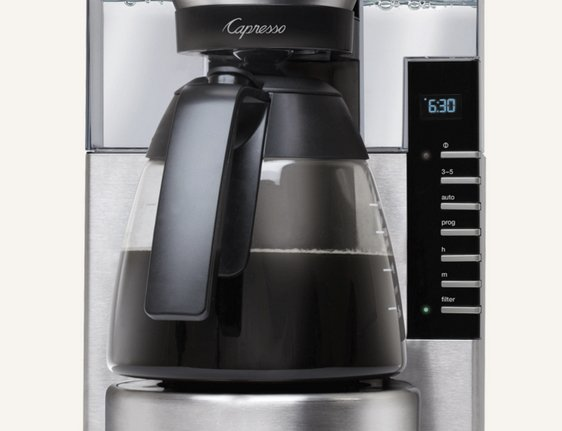 Coffee Maker Khoury Home : Capresso 10 Cup Rapid Brew Coffee Maker Giveaway
