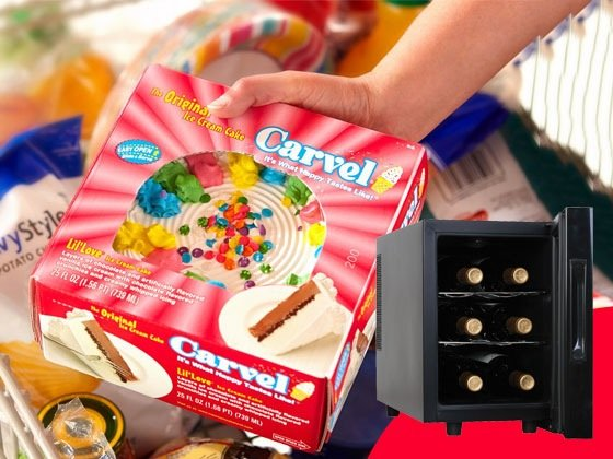 Carvel Ice Cream Cake And Mini Wine Fridge Sweepstakes