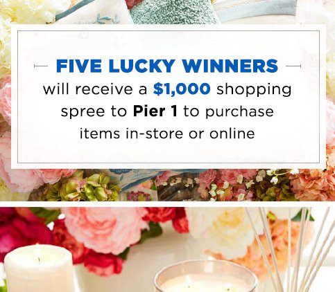 country living pier 1 imports sweepstakes