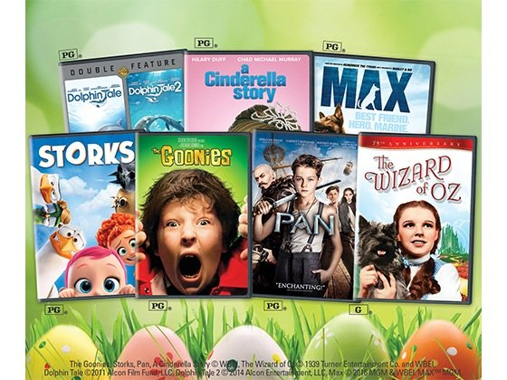 Twist Magazine - Easter Movie Bundle Sweepstakes
