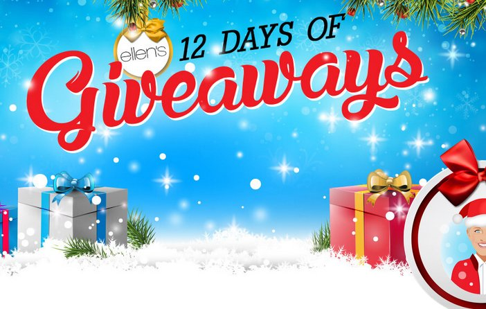 ellen degeneres 12 day giveaway winners
