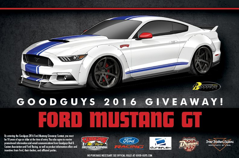 Win a new $34000 2016 Ford Mustang GT from Good Guys! - Good Guys Top & Enter it now! This one is hot! Win a new $34000 2016 Ford Mustang ... markmcfarlin.com