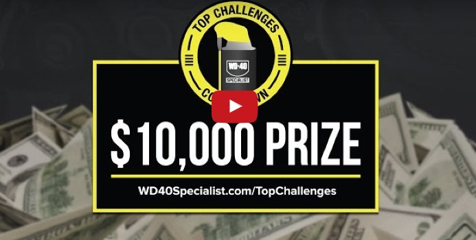 WD-40 - ENTER TO WIN $10,000 Cash in The PowerNation WD-40