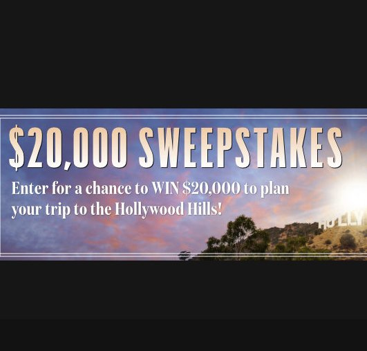 Entertainment Weekly $20,000 Sweepstakes