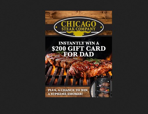Sears Fathers Day Steak Off Sweepstakes