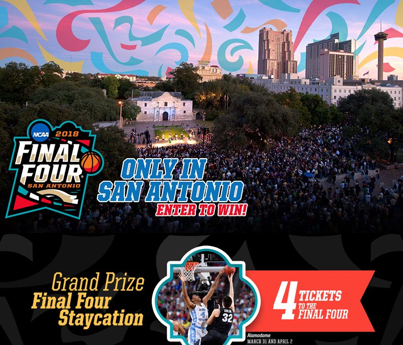 Ncaa Final Four San Antonio Sweepstakes