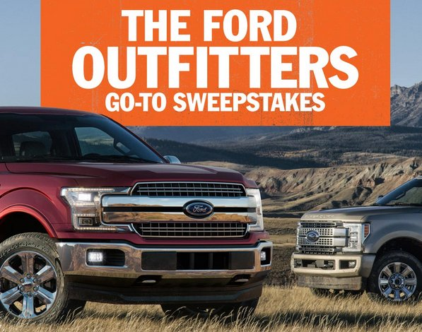 Ford Motor Company - Ford Outfitters 'Go To' New Truck