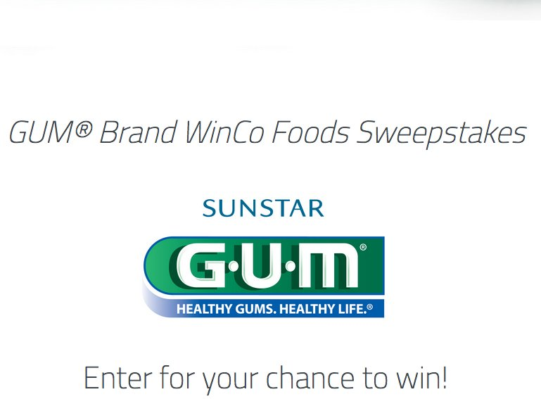 Gum Brand Sweepstakes