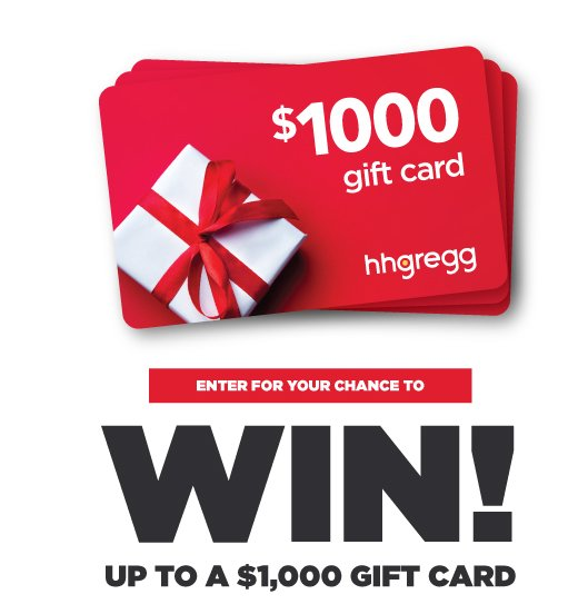 Hh Gregg Holiday Gift Card Giveaway