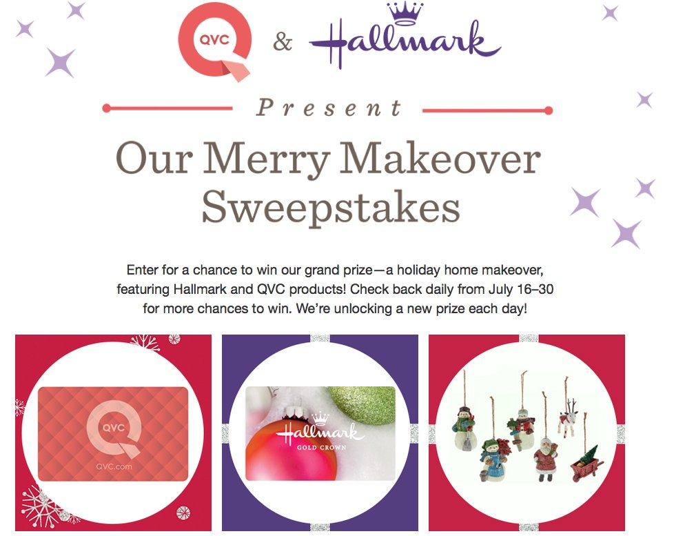 Qvc A Holiday Home Makeover Featuring Hallmark And Qvc