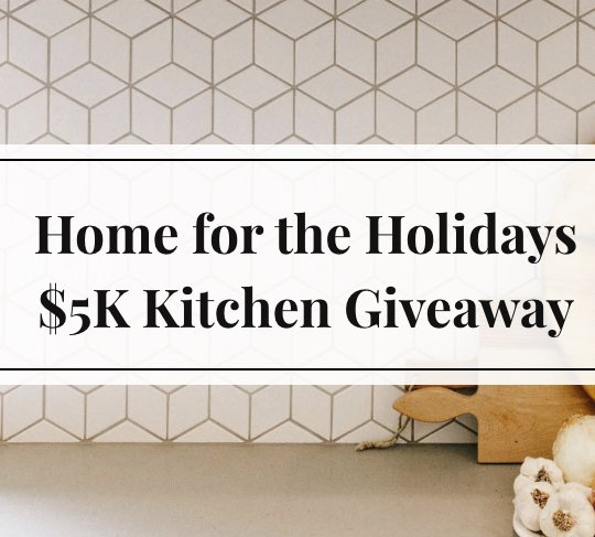 Home for the holidays giveaway for New home giveaway