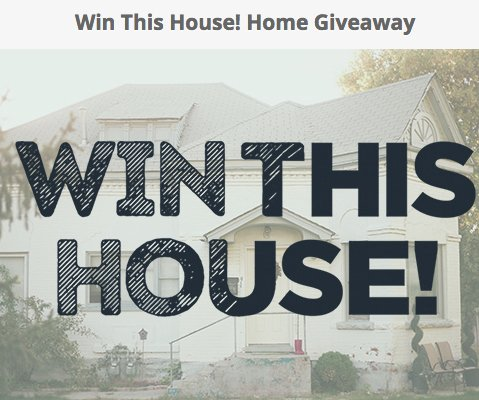 Home love network llc home love network win a house for Win a home contest