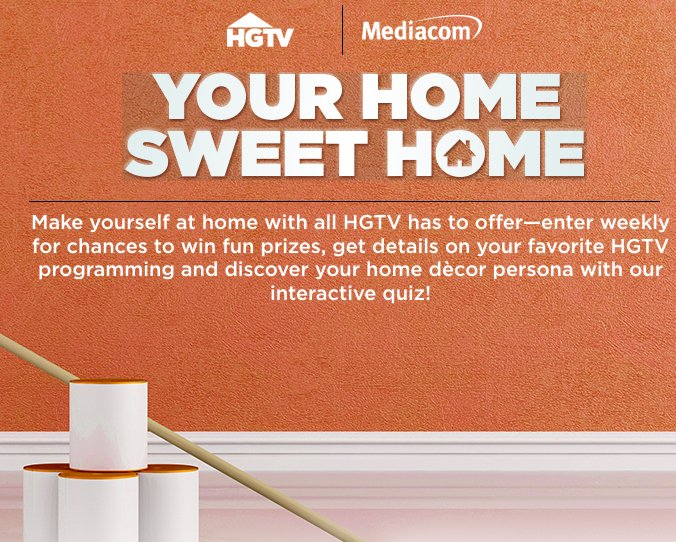 Hgtv home sweet home sweepstakes for New home giveaway