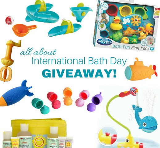 Brilliant Baby Products International Bath Day Giveaway