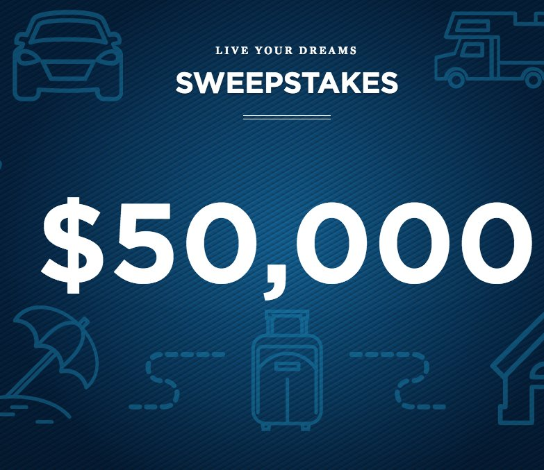 USAA Life Insurance Company - Live Your Dreams Sweepstakes