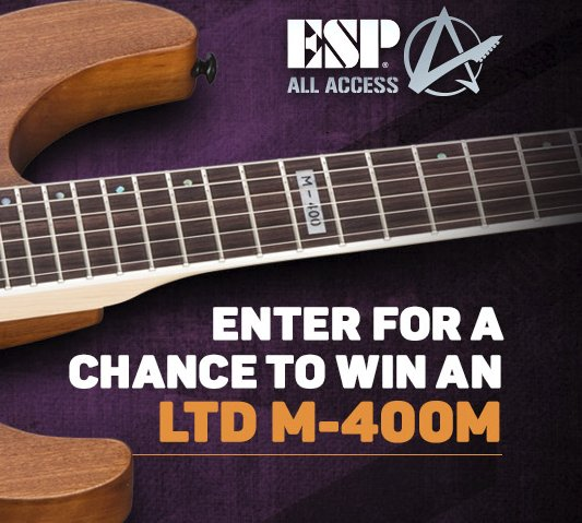 Guitar giveaway sweepstakes
