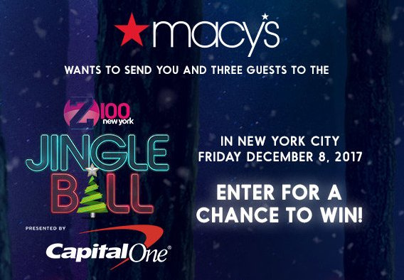 Z100 new york contests and giveaways