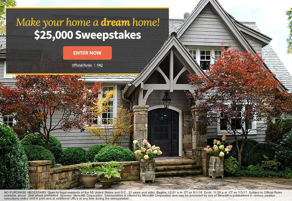 Better homes garden make your dream home with 25 000 for Draw your dream house