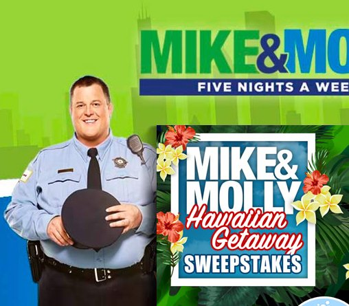 mike and mike sweepstakes mike molly warner bros mike and molly week night 4888