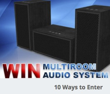 av express multiroom audio system giveaway. Black Bedroom Furniture Sets. Home Design Ideas