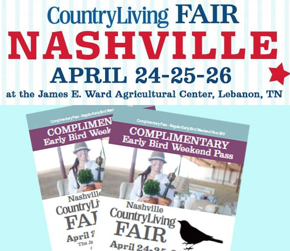 Country Living - Nashville Sweepstakes