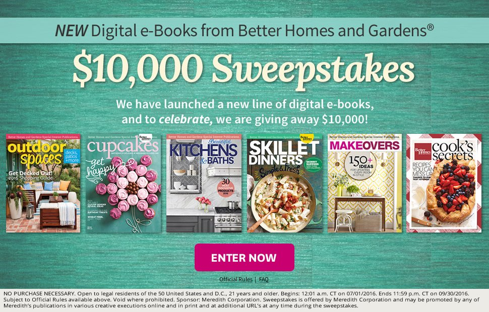 New Digital Books & $10 000 Sweepstakes