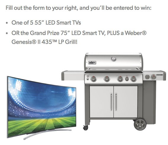New TV Win It Sweepstakes