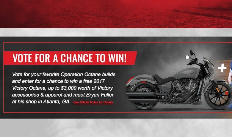 online sweepstakes for motorcycles