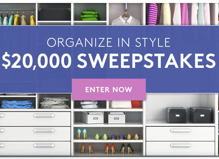 Organize in Style Sweepstakes