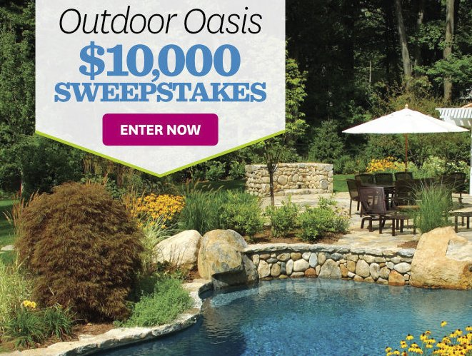 Better Homes And Gardens Outdoor Oasis Sweepstakes