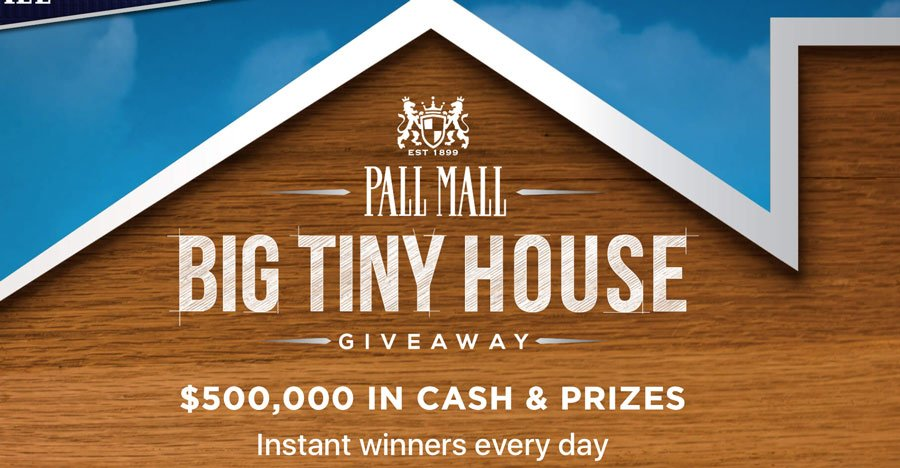 Pall mall big tiny house giveaway for New home giveaway