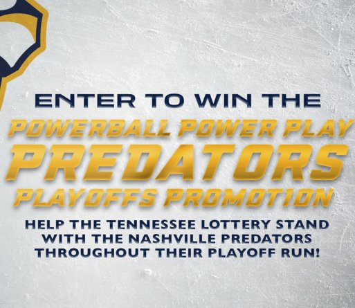 Powerball Power Play Predators Playoffs Promotion