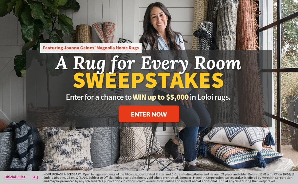A Rug For Every Room Sweepstakes!   Better Homes And Gardens