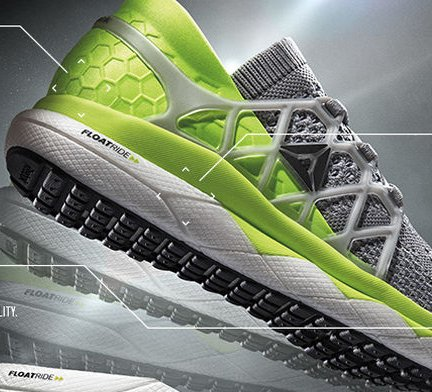 First Prize A Pair Of Reebok Floatride Running Shoes