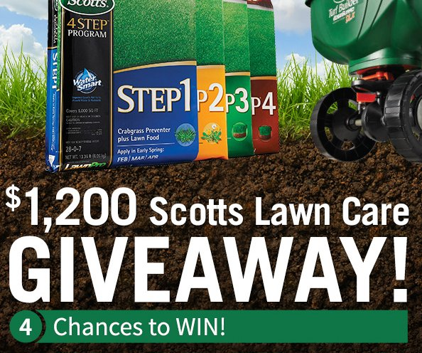 Do it best scotts lawn care giveaway for New home giveaway